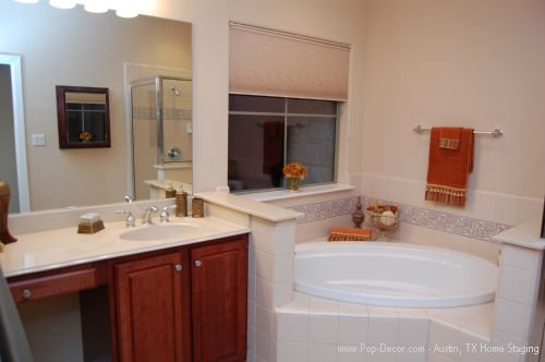 Austin Home Staging After Picture of Bathroom